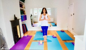 Olivia's yoga room, North London