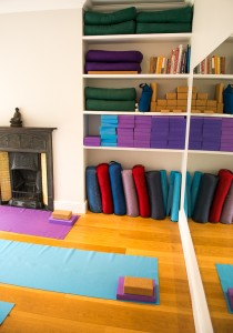 Yoga home classes north london with equipment provided